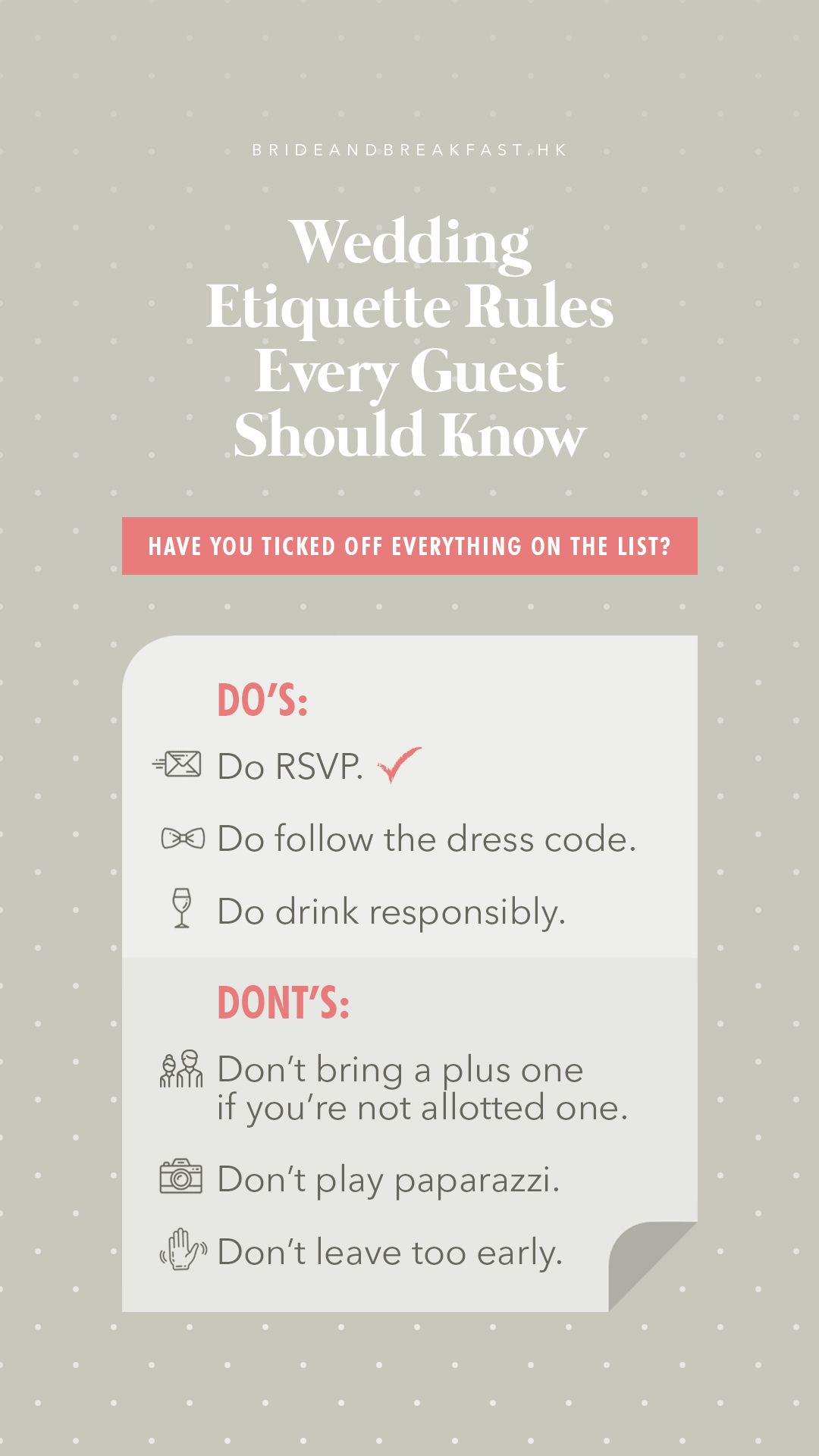 Wedding Guest Etiquette Rules Everyone Should Know Wedding Guest Etiquette Wedding Guest Book Wedding Guest Book Sign