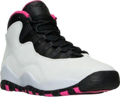 5d2862981e47b1 Girls Grade School Air Jordan Retro 10 (3.5y - 9.5y) Basketball Shoes