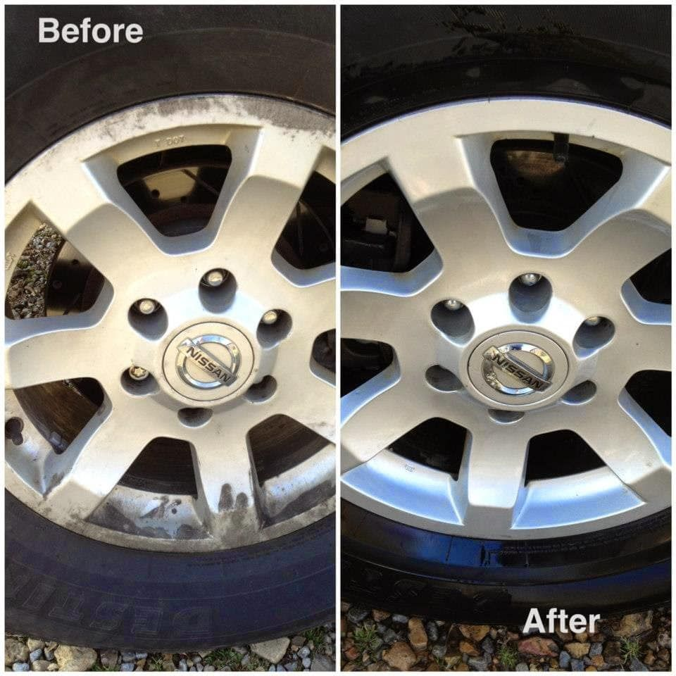 Bleach Your Wheels Getting Those Rims Clean Is No Easy Feat There Is A Great Hack For It Though Get Hold Of Some B Car Cleaner Car Cleaning Diy Car Cleaning