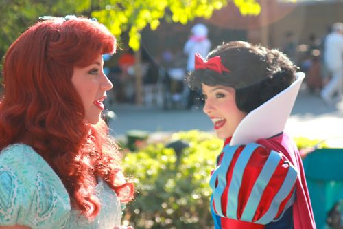 Ariel and Snow White!❤