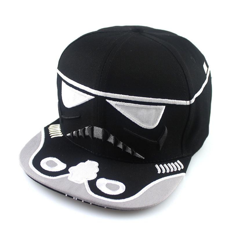 New Hot Bboy Hip-hop Hats Men Women Cool Space Star Wars Snapback Bone  Gorras Pop Boys Baseball Caps Strapback Letter Cap 007 6ed42f6ba9b3