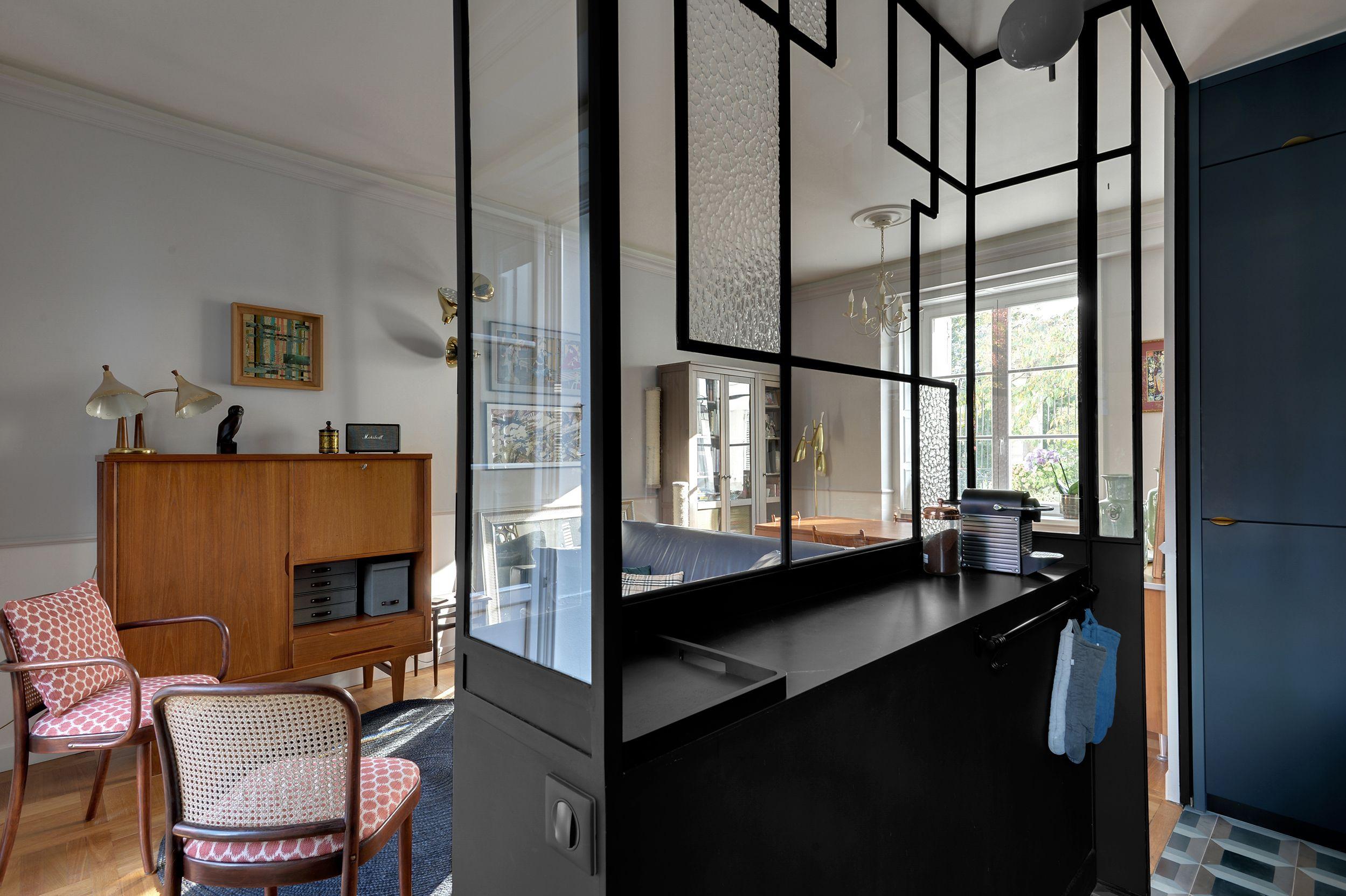Transformation d un petit appartement parisien - Mariekke Claustra, Déco  Maison, Cote Maison bbbc3e77b98c
