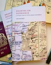 I'm obsessed with BBC journalist Tim Baynes' travel sketches. For 20 years he's chronicled his journeys with pen & ink sketches in Moleskine notebooks and now he has a book! #mustread