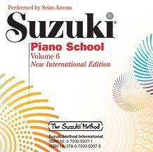 Suzuki Piano School New International Edition CD, Volume 6