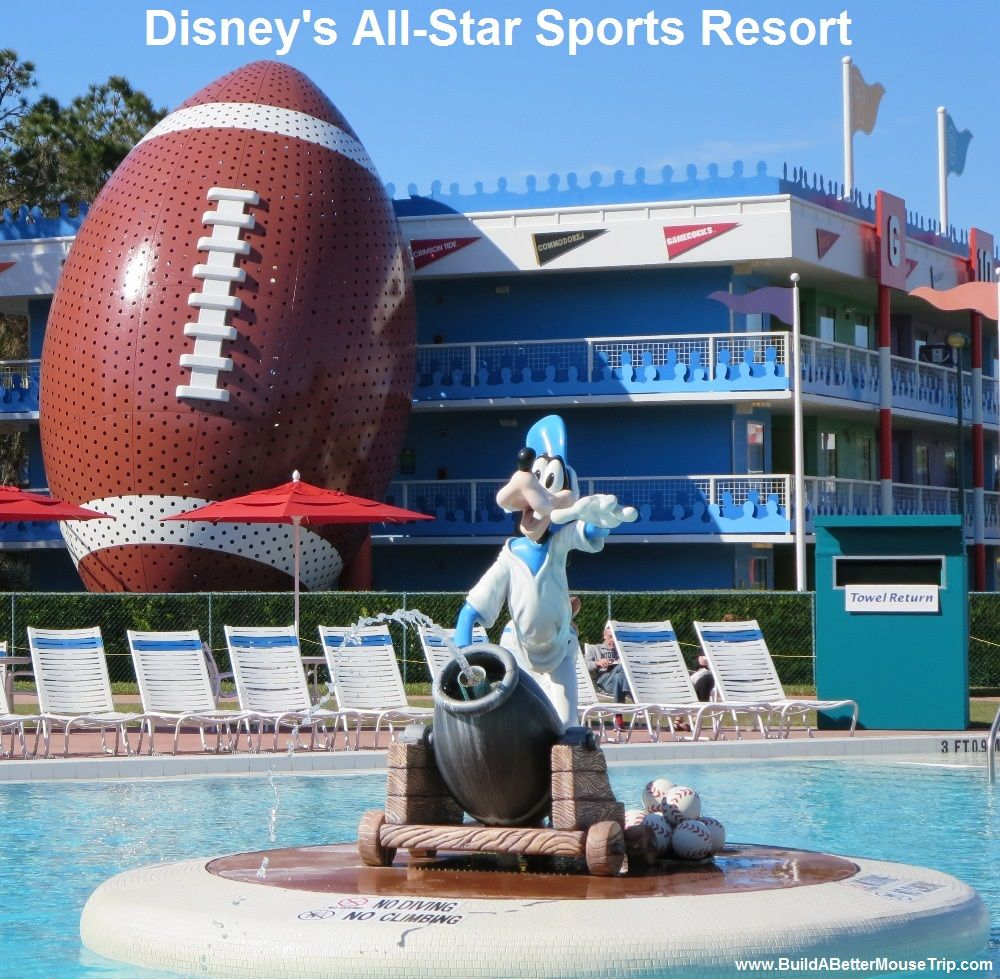 The Grand Slam pool in the Home Run section of Disney's