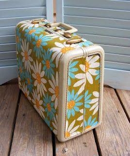Mod Podge Suitcase Project