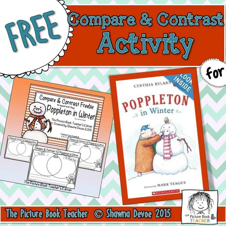 compare contrast freebie inspired by poppleton in winter centers and small groups compare. Black Bedroom Furniture Sets. Home Design Ideas
