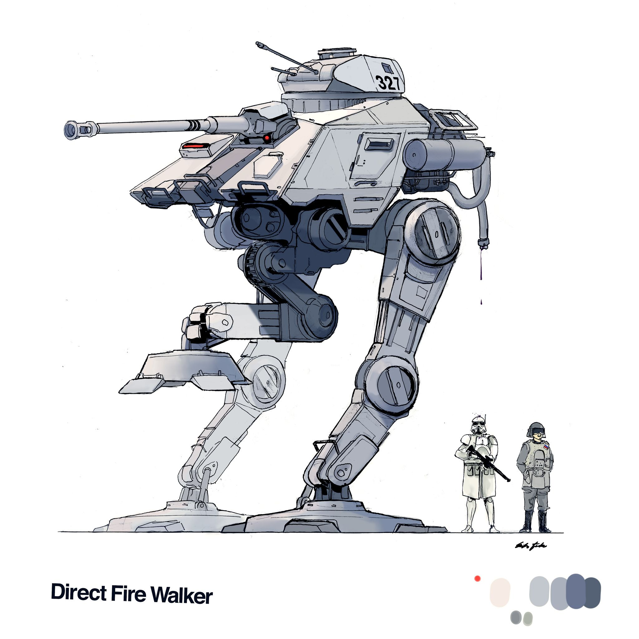 direct fire walker | things i have made | Pinterest | Star Wars ...