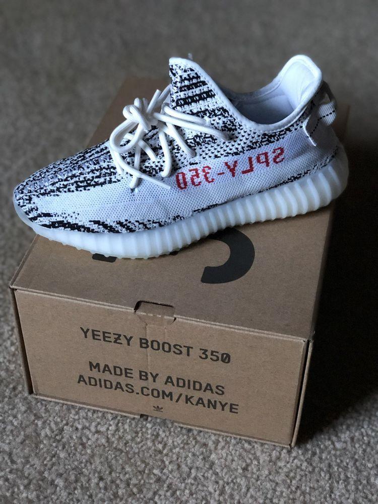 65038ddca164e yeezy boost 350 zebra ebay