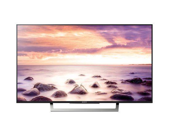 Sony Kd49xd8305 49 4k Ultra Hd Smart Tv Wi Fi Zwart Zilver