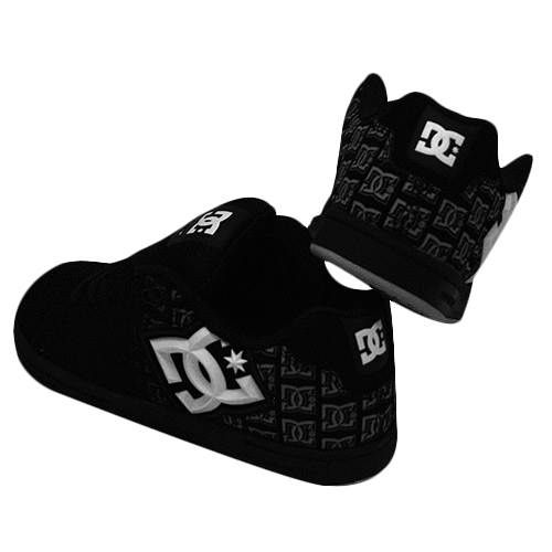 Black Skull Sneakers Slip on Shoes For 18 Inch American Girl Doll Clothes
