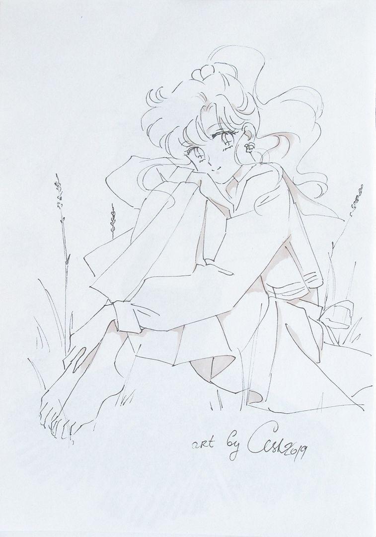 Hudozhestvennye Raboty By Ash Anime Art Fenykepei Sailor Moon Coloring Pages Art Album Anime Art
