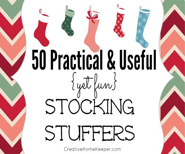 50+ Practical and Useful (Yet Fun) Stocking Stuffers #stockingstuffersforadults