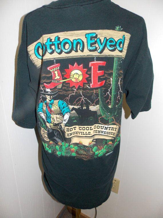Vintage Cotton Eyed Joe Knoxville Tn Boot By Pfantasticpfindstoo 20 00 Cotton Eyed Joe Vintage Shirts Vintage Cotton