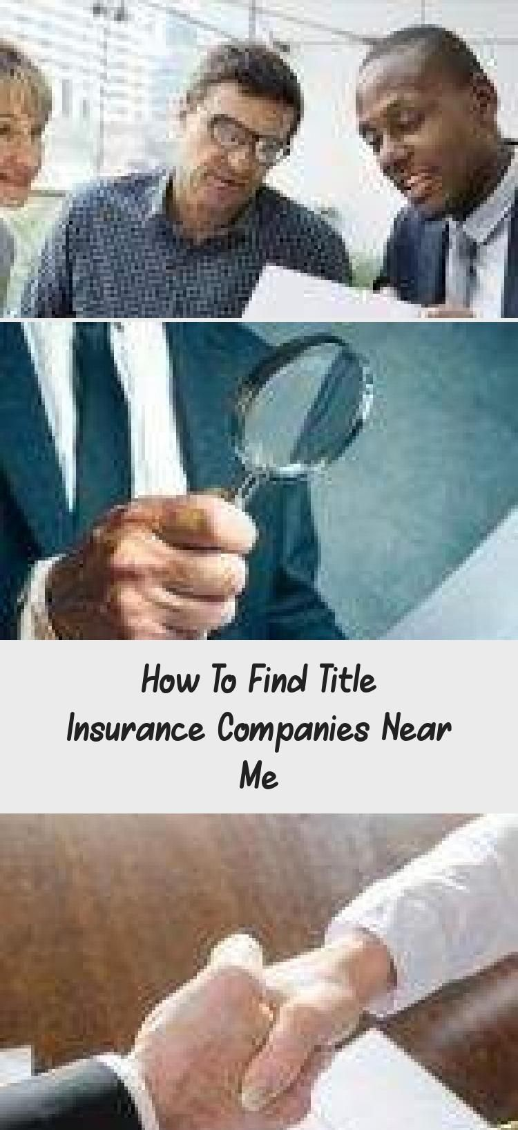 How to Find Title Insurance Companies Near Me Nationwide