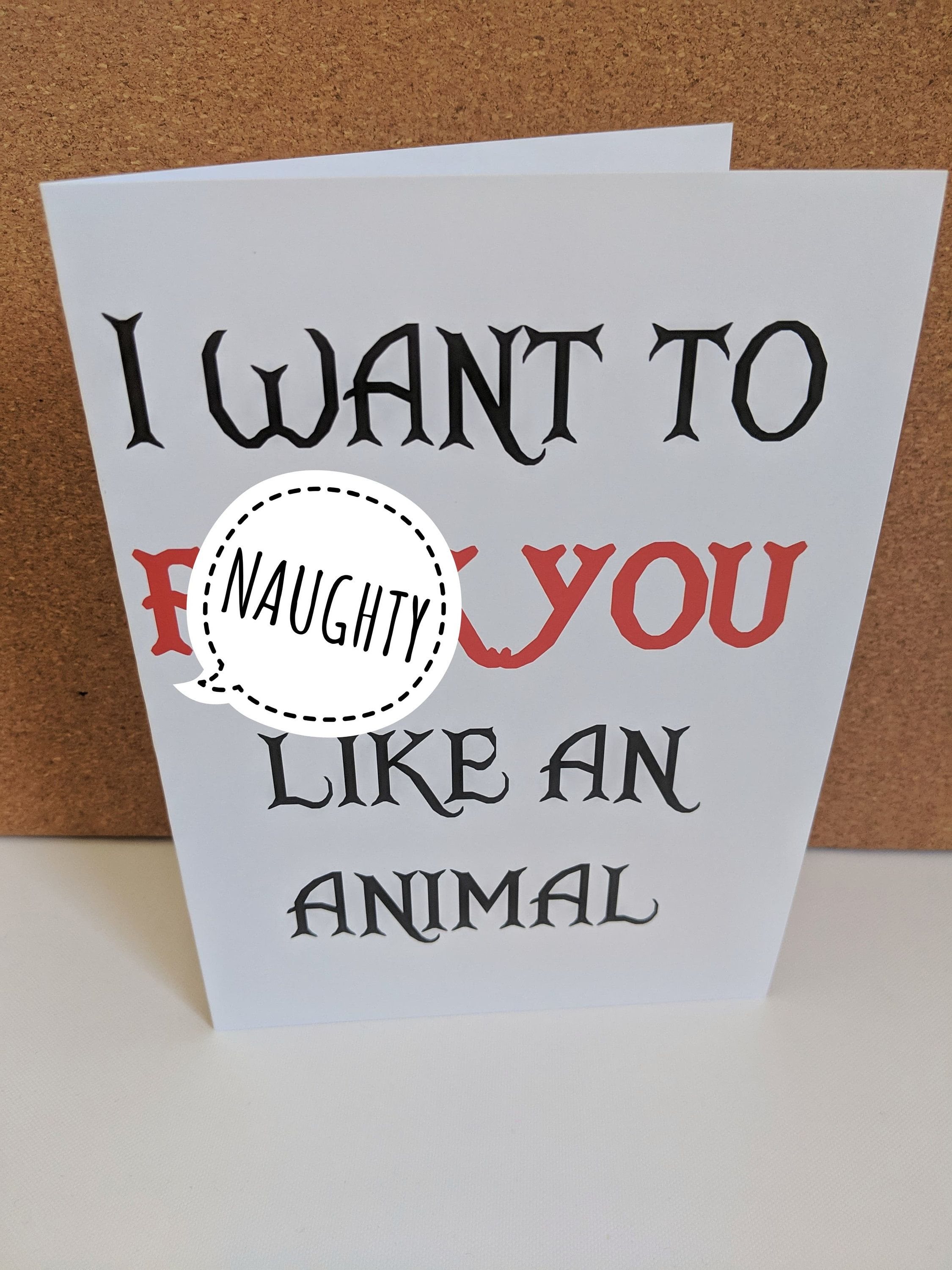 Nine Inch Nails Like An Animal : nails, animal, Animal, Nails, Closer, Valentines, Gree…, Valentine, Greeting, Cards,, Greetings