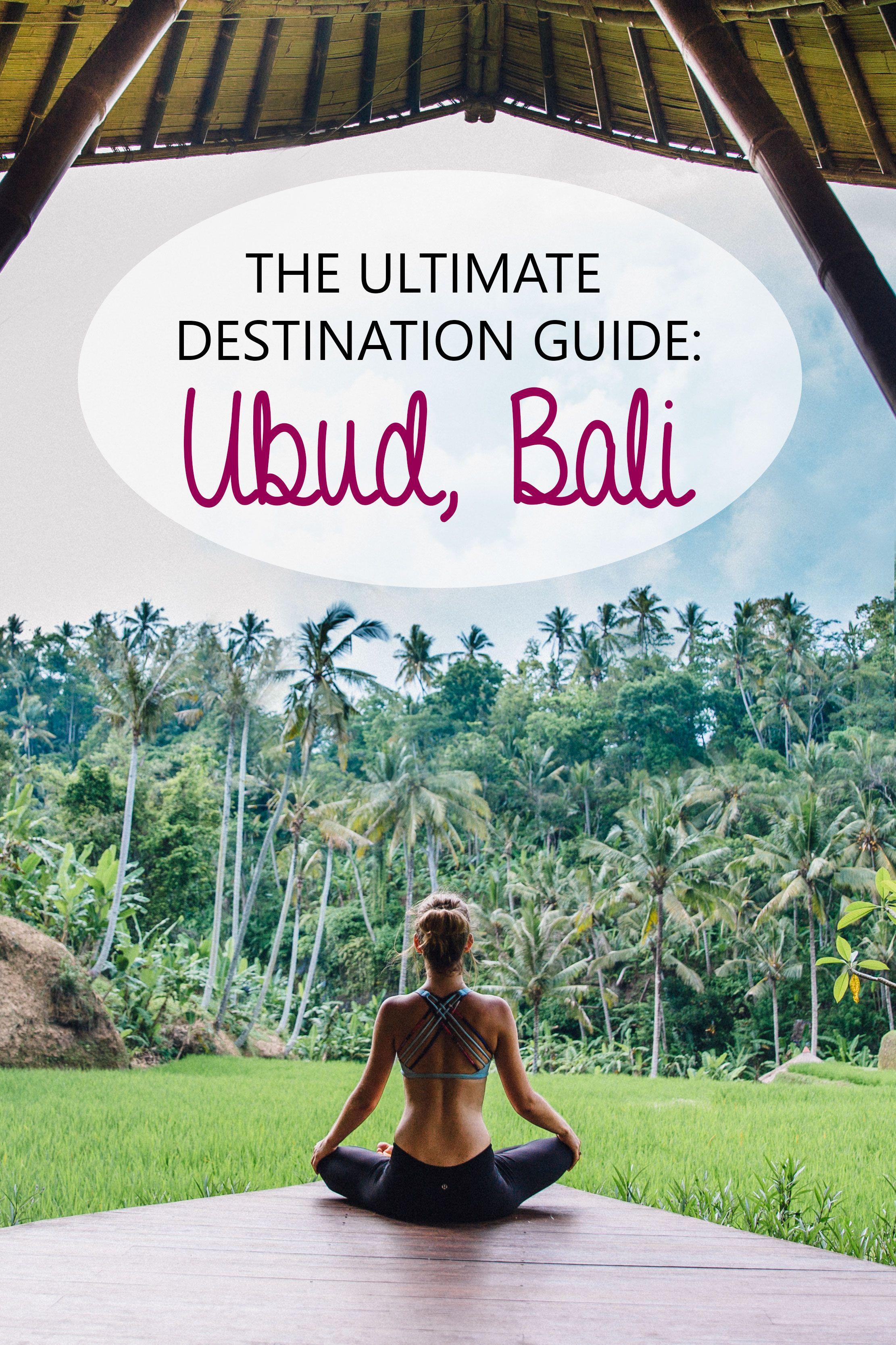 Bali Destination Guide Ubud Edition Bali travel guide