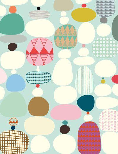 Viola Brun (http://violabrundesigns.com/) ~ via Print & Pattern