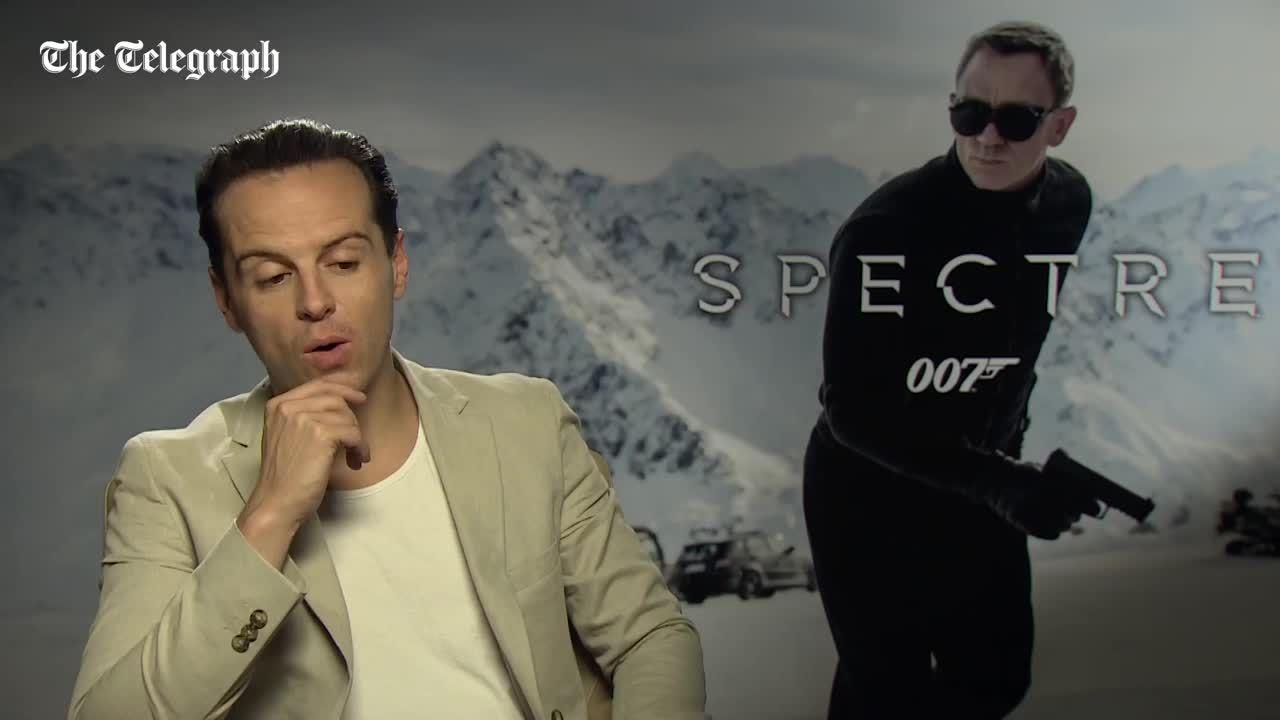 6ee70465b6 Andrew Scott talks SPECTRE