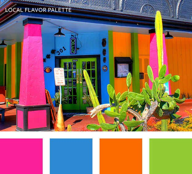10 Color Palettes Inspired By The Beauty Of Florida Mexican