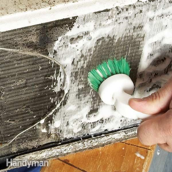 How To Clean A Room Air Conditioner Air Conditioner Repair Room Air Conditioner Diy Air Conditioner