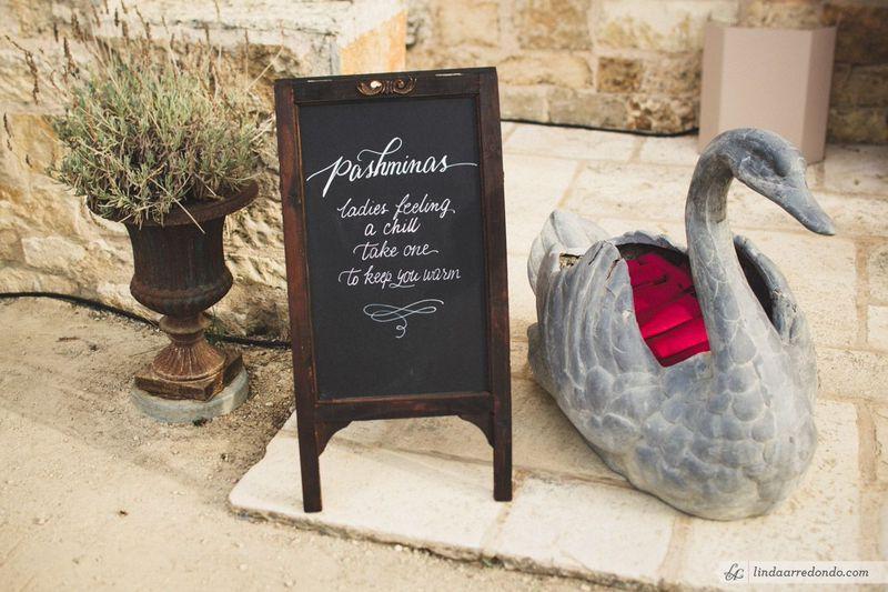 Keep your guests warm such a cute idea santabarbara