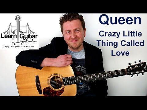 Crazy Little Thing Called Love Acoustic Guitar Lesson Queen