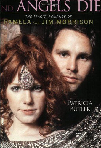 Book about Jim Morrison and Pamela Courson Morrison .