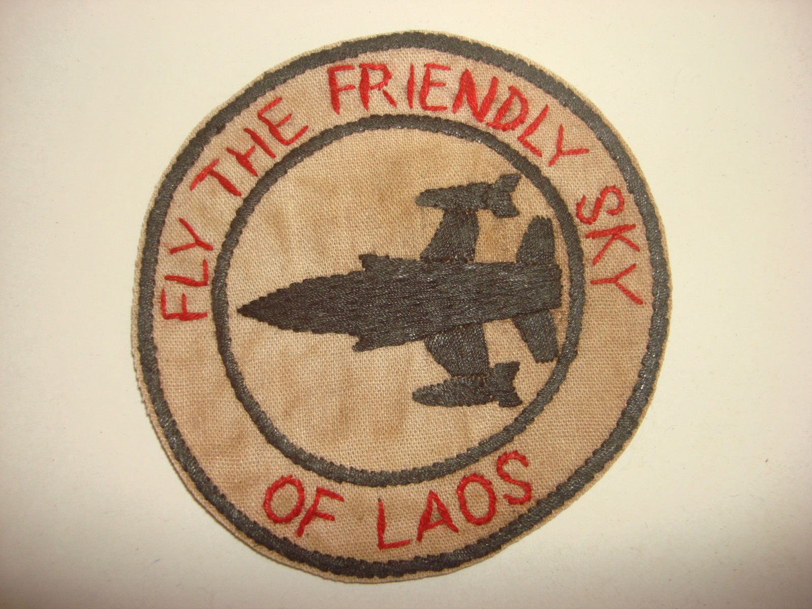"""US Air Force """"Fly The Friendly Sky of Laos"""" Vietnam"""