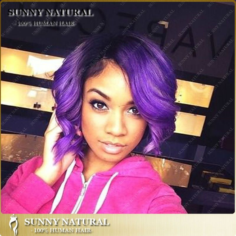 Fine 1000 Images About Passionate 4 Purple On Pinterest Black Women Short Hairstyles For Black Women Fulllsitofus