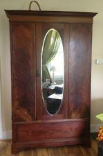 Antique Armoire Wardrobe Beautiful W Mirror