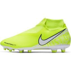 Photo of Nike Phantom Vision Academy Dynamic Fit Mg Fußballschuh für verschiedene Böden – Gelb NikeNike