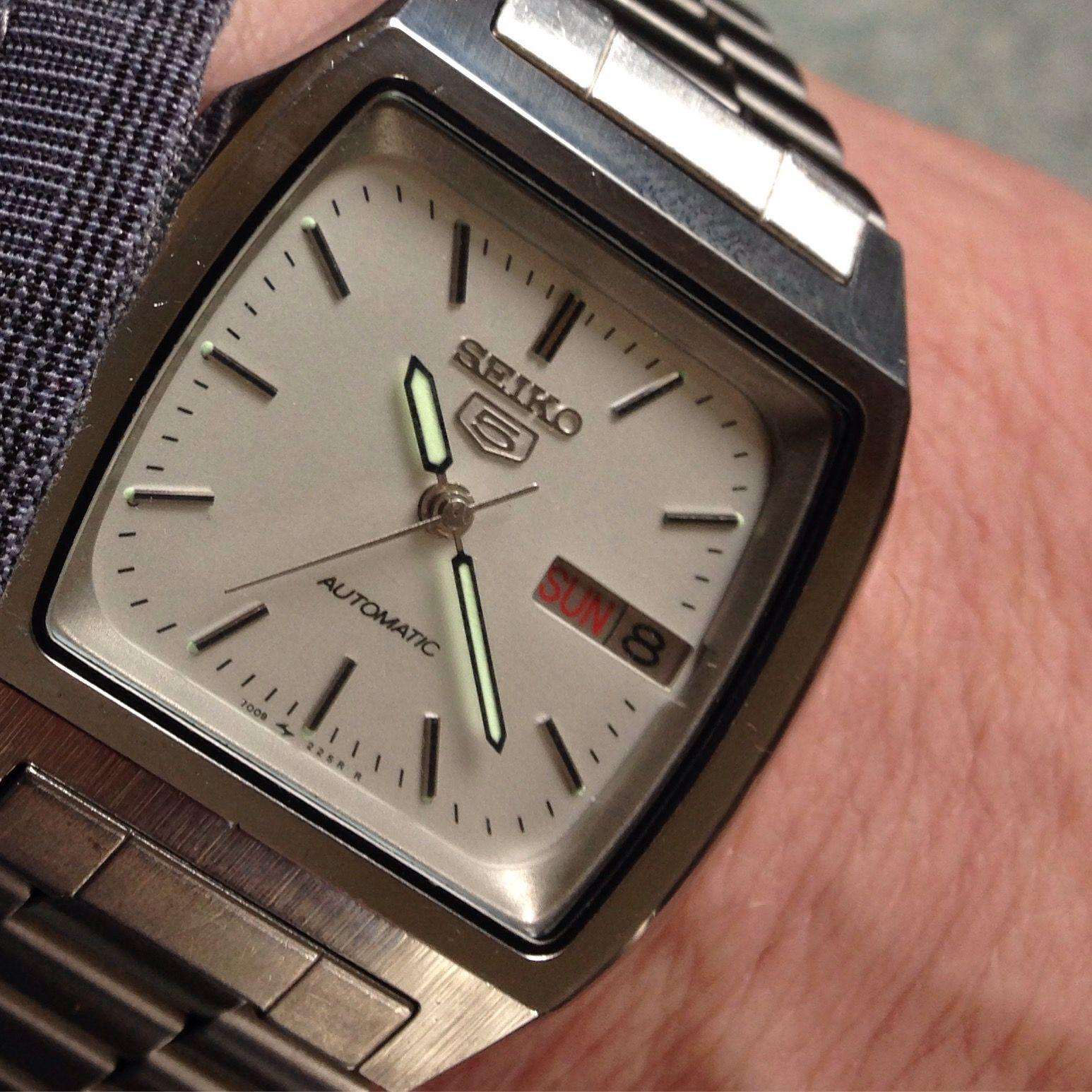 Vintage Seiko 5 Automatic Stylish Watches Men Cool Watches Stylish Watches