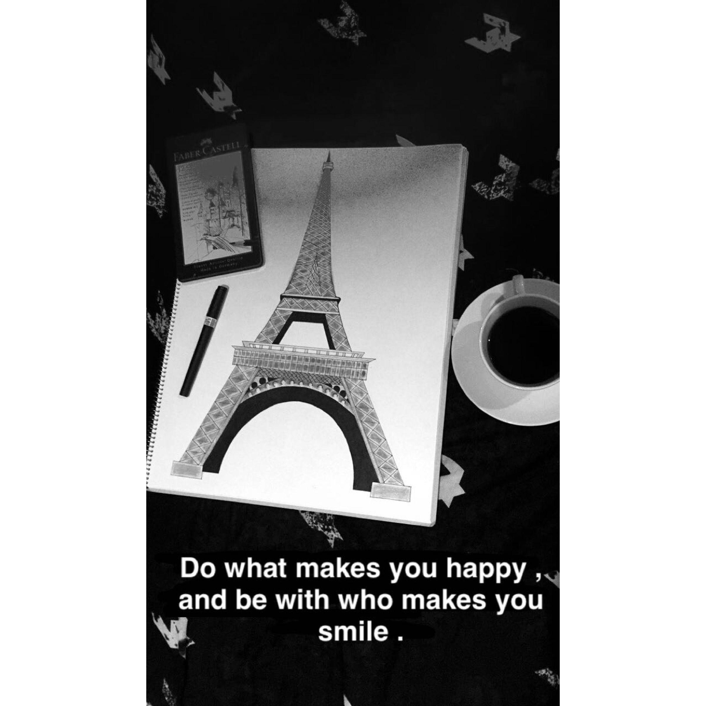 Eiffel Tower Drow Eiffel Tower Eiffel Make You Smile