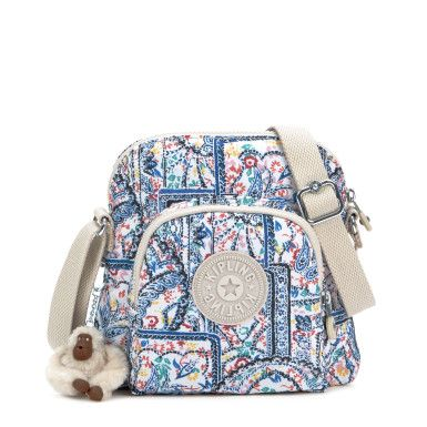 Apple Printed Crossbody Minibag - Lovely Day Neutral