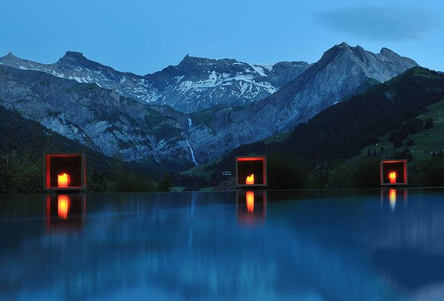 Best Hotel In Switzerland With Infinity Pool Cambrian Hotel Switzerland Adelboden Hotel Swimming Pool Best Hotels