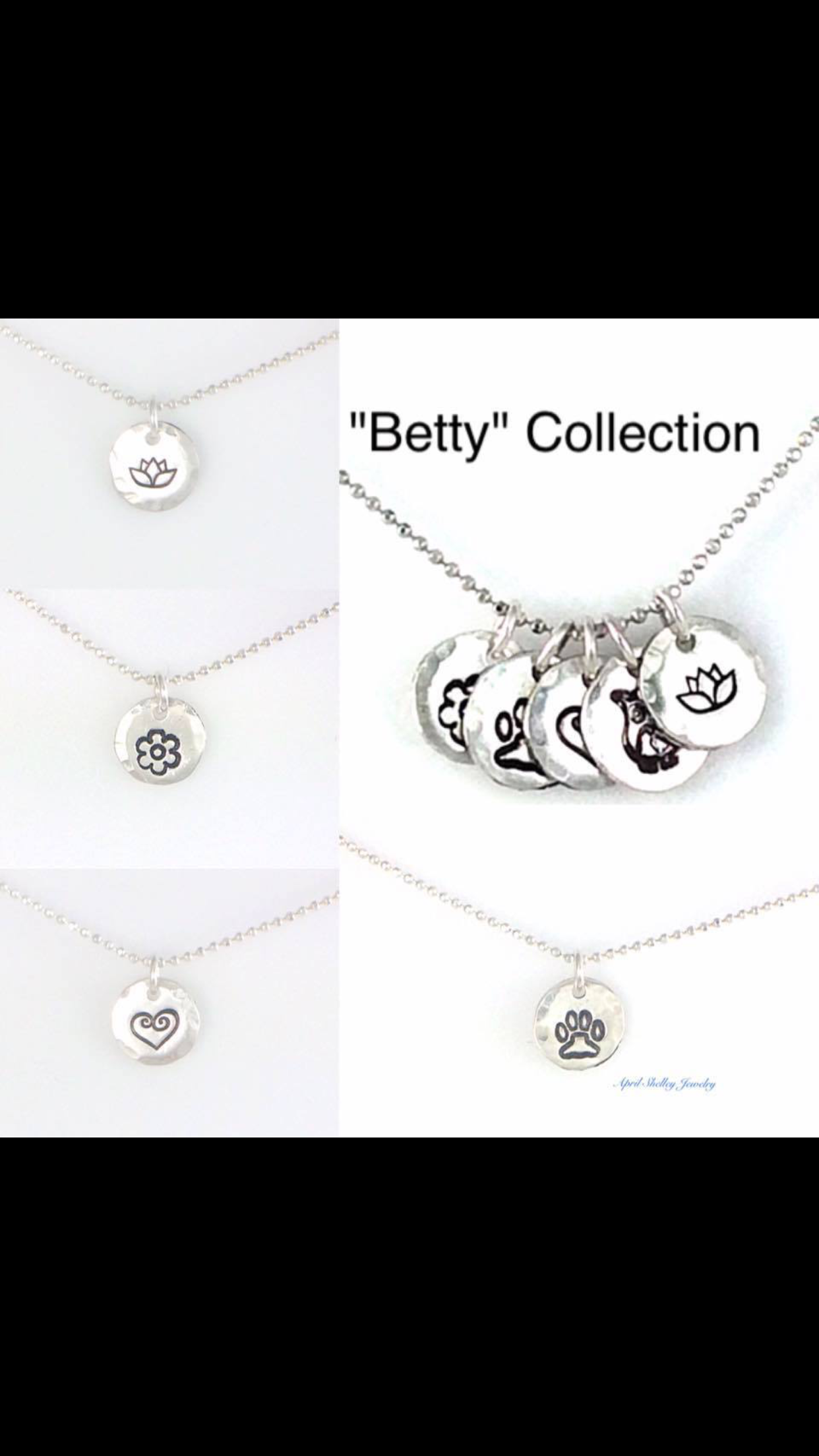 Bitty Betty! The most comfortable necklace you will ever wear! Sterling Silver small disc on a Sterling Silver Diamond cut ball chain. Only $30