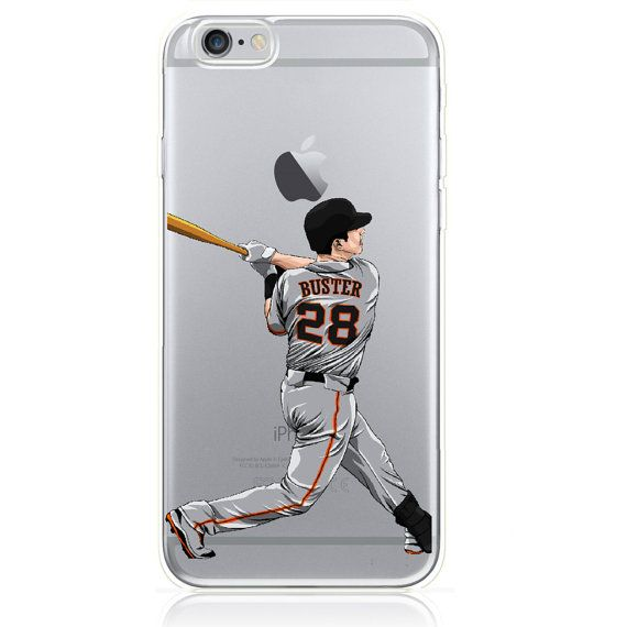 Buster Posey iPhone Case by MyTeamMyCase on Etsy