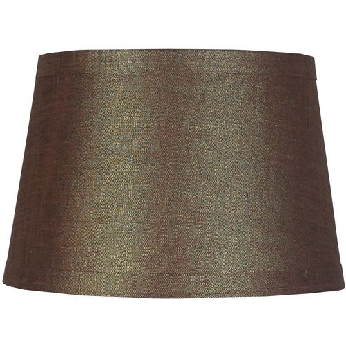 Better Homes and Gardens Lurex Lamp Shade, Brown | Living Room ...