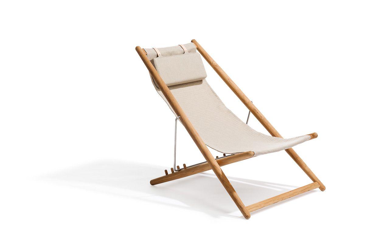 H55 Skargaarden Lounge Chair Outdoor Sun Lounger Outdoor Furniture