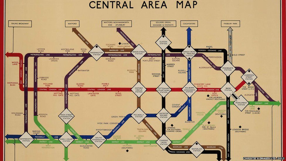 In Pictures Vintage Tube Maps London Underground Map London Underground London Underground Tube