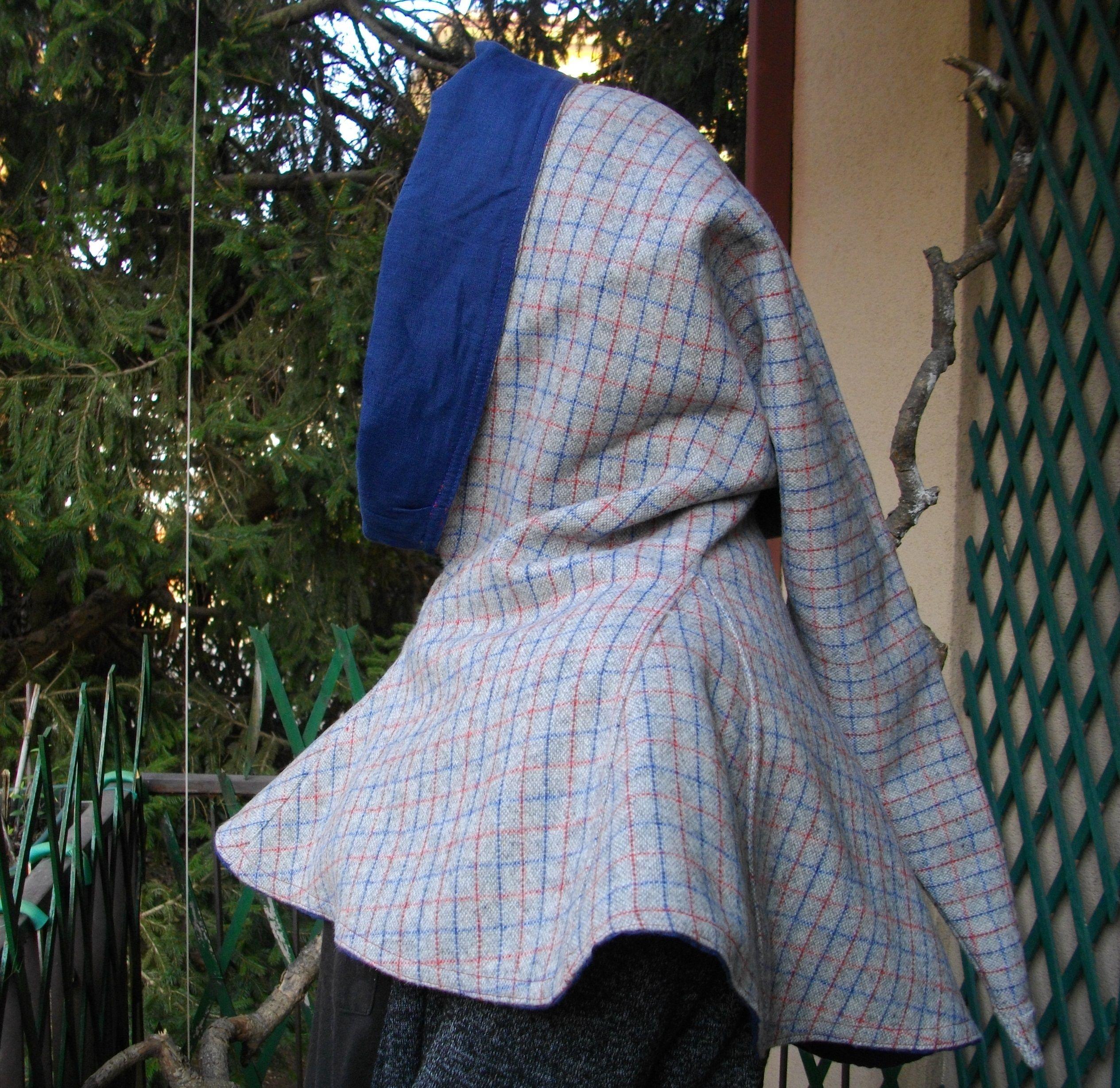 Chapperon uomo lana e fodera cotone
