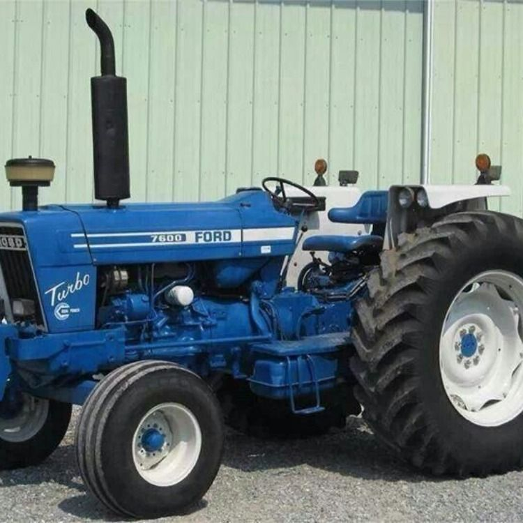 Ford New Holland 7610 7710 Tractor Repair Service Manual Tractors Ford Tractors Vintage Tractors
