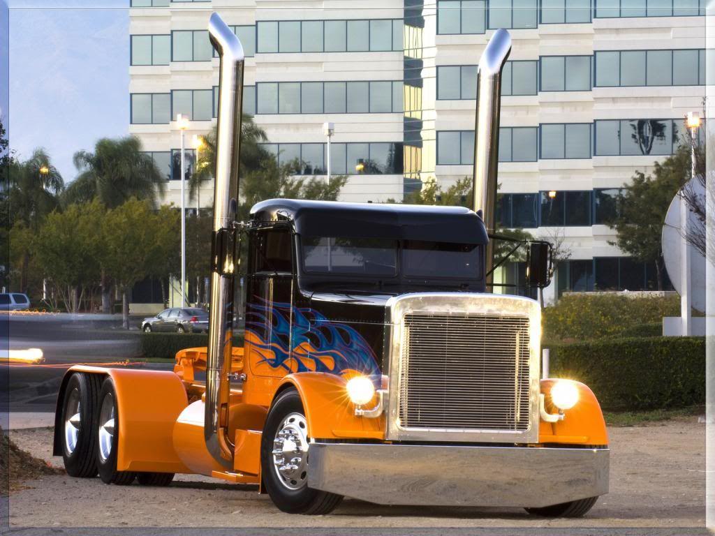 Images For Custom Semi Trucks Wallpapers Big Trucks Trucks