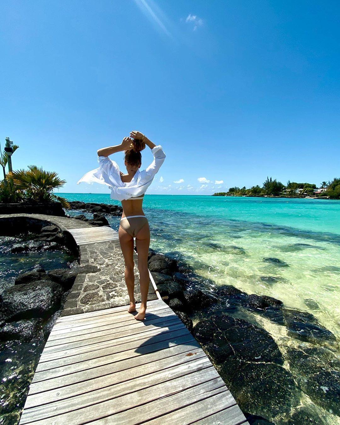 Ассоль на Маврикии