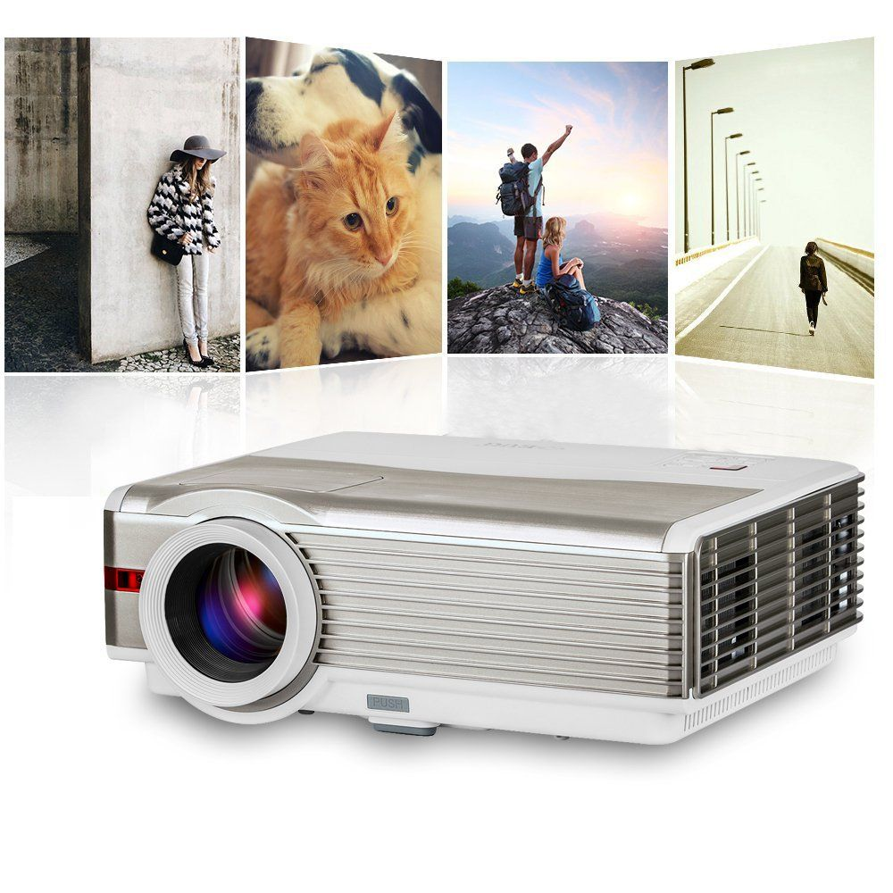 Eug Home Theater Multimedia 3d 4000 Lumens Hdmi Led Projector X760 2500 High Resolution 1024 X 600 Tv Tunner Cinema 4200 1080p Usb Input Lcd Video