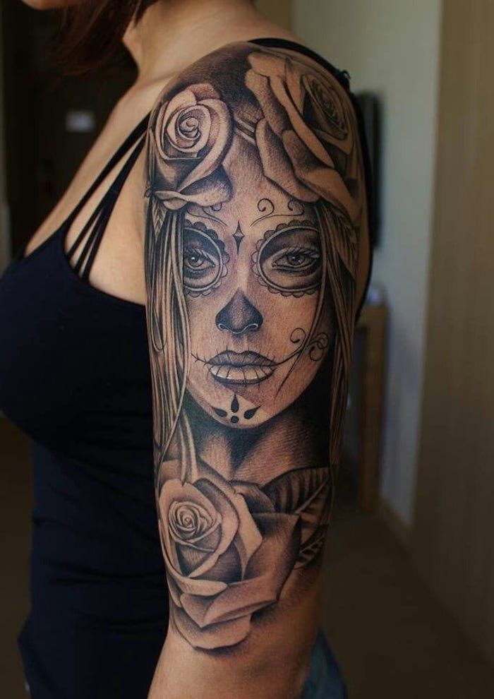 Photo of ▷ 1001 + ideas and pictures about La Catrina tattoo
