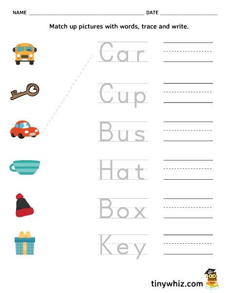 Free Printable Preschool (Pre K) Worksheets – Vorschulaktivitäten Blog