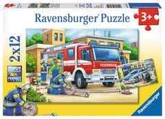 Polizei und Feuerwehr Puzzles;Kinderpuzzle Ravensburger