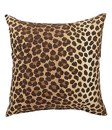 Newport Panther Mink Decorative Pillow Dillards Home Decor Cool Dillards Decorative Pillows